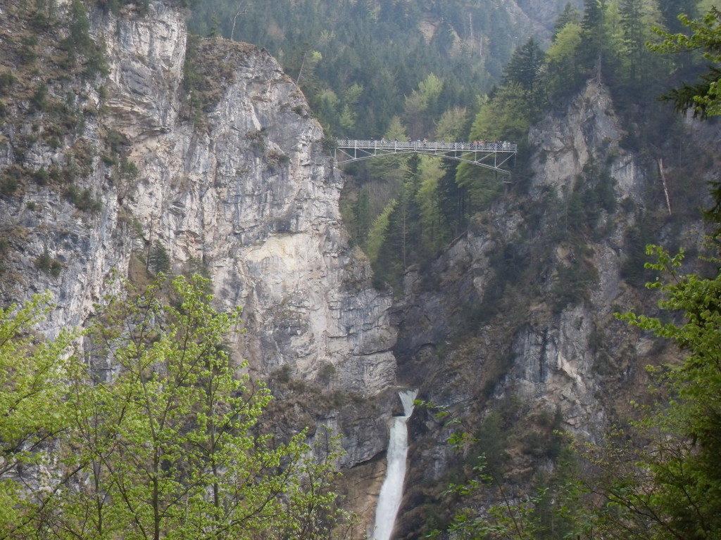 Vista da Neuschwanstein del Ponte di Maria