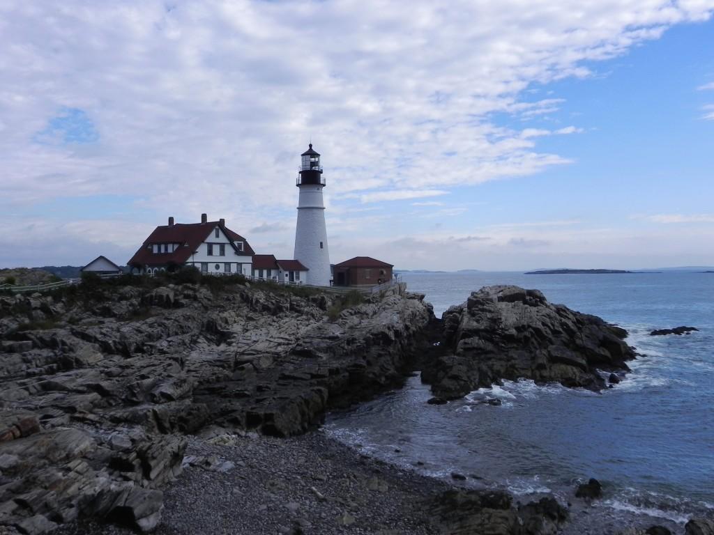 New England Il Faro Di Portland Head Maine