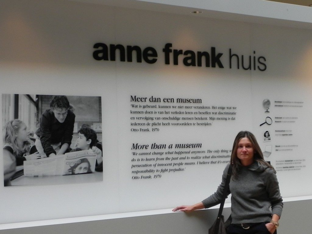 Anna Frank, sala multimediale