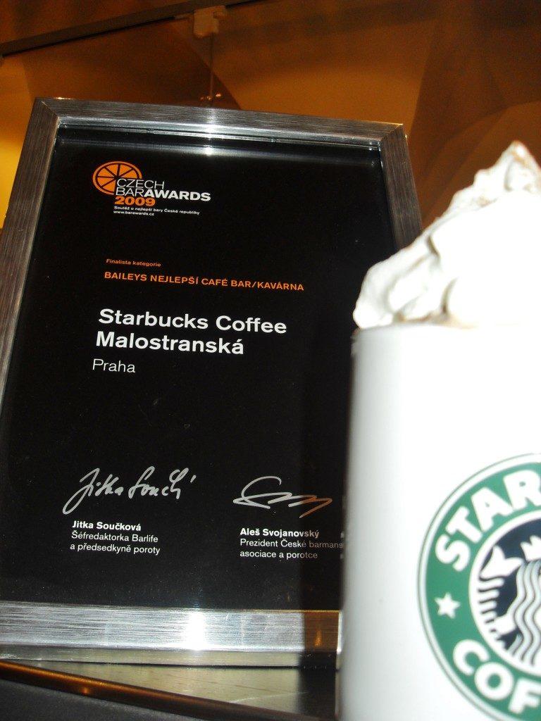Starbuck coffee Praha