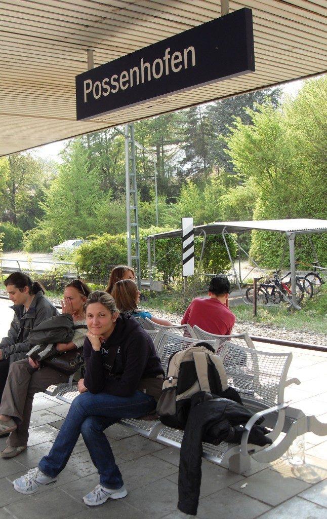 Alla stazione di Possenhofen