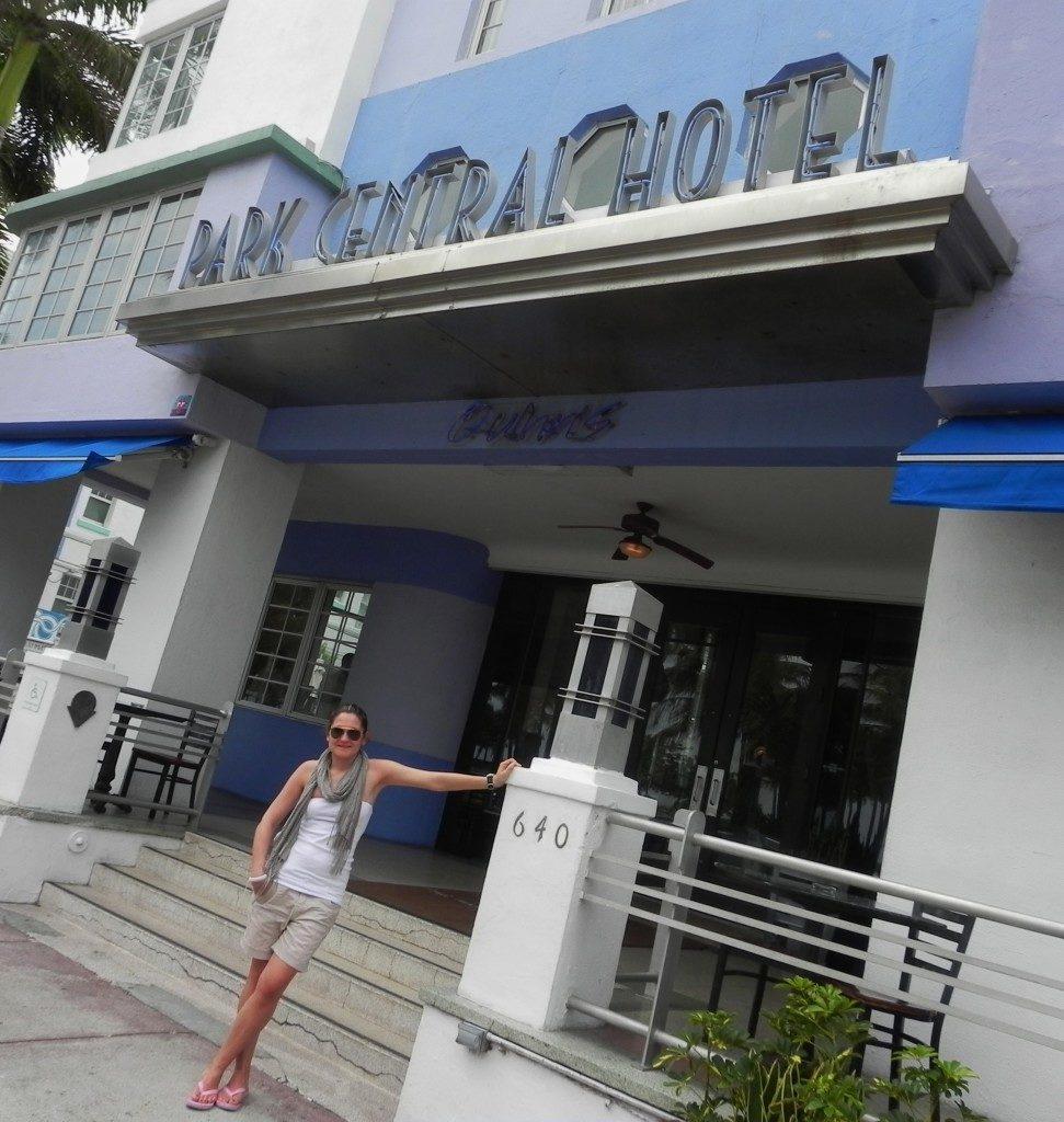 Il mio hotel in Ocean Drive...