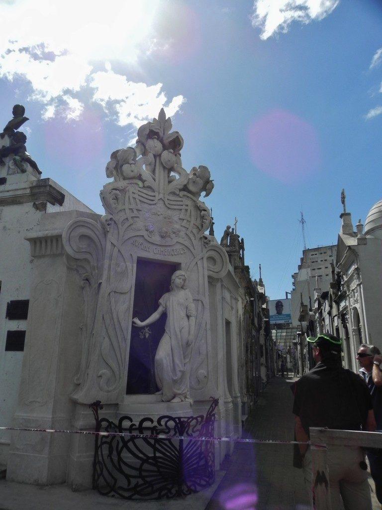 Passeggiando nel Cementerio de la Recoleta....