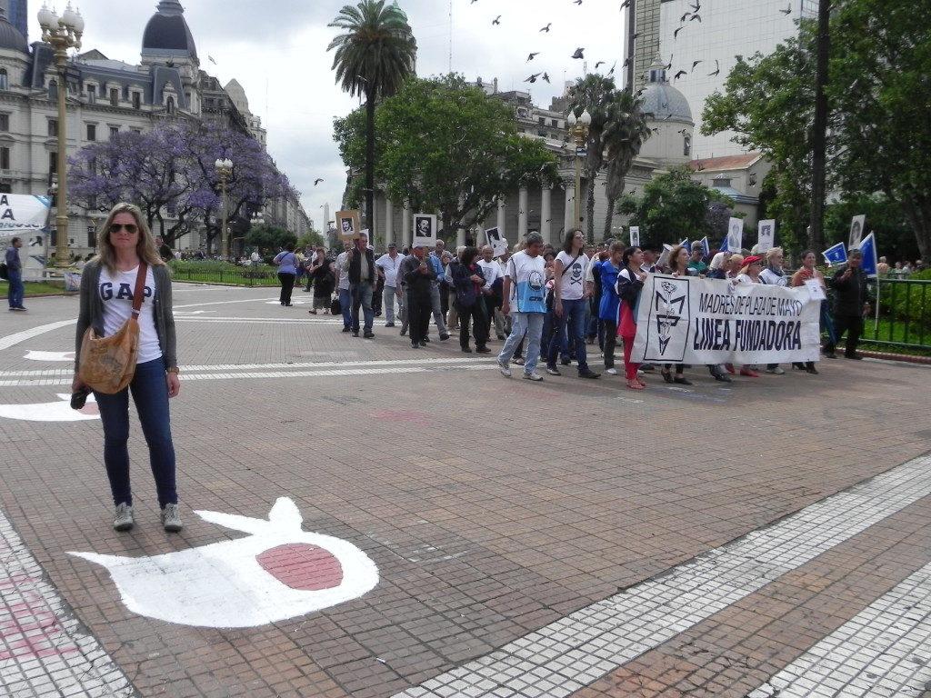 Nella Plaza de Mayo la protesta delle madri