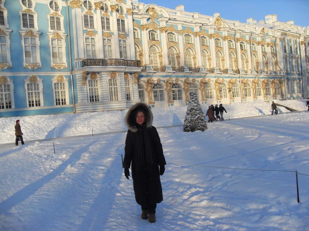Il Palazzo d'estate.. nel gelido inverno russo!!!