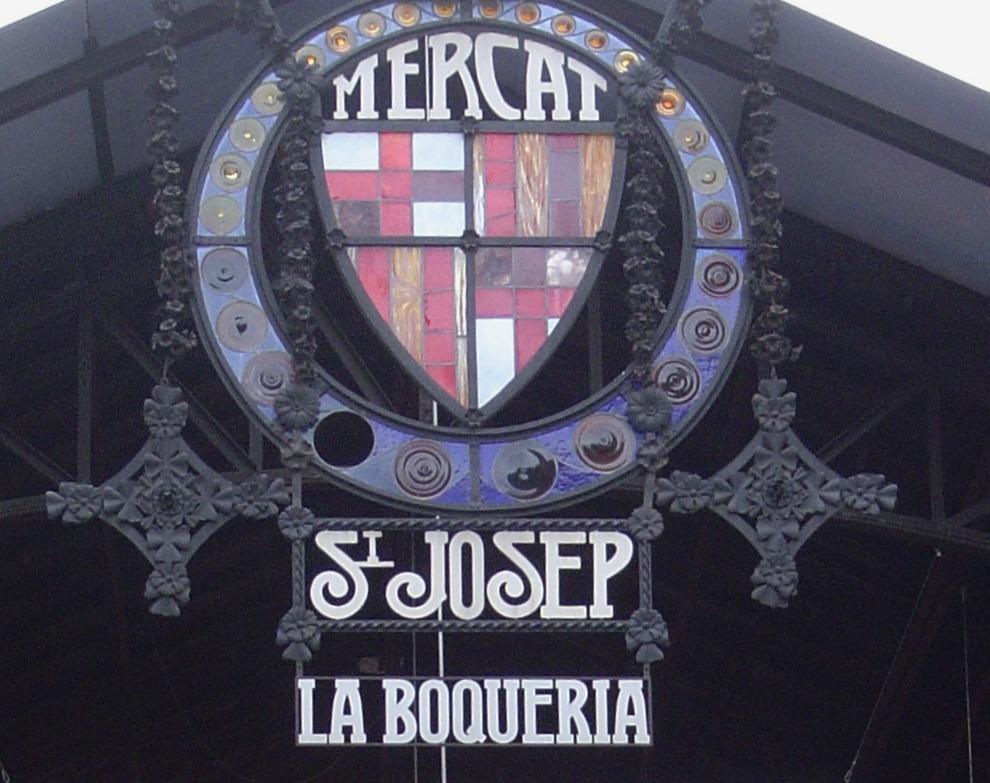 Il mercato della Boqueria...