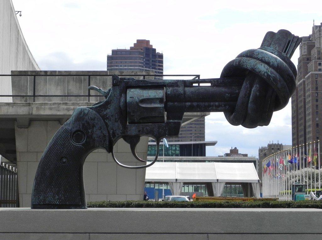 Una pistola che non può sparare, benvenuti all'ONU!!