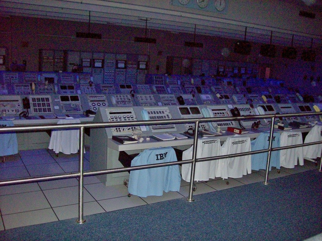 L'originale sala comandi del' 69