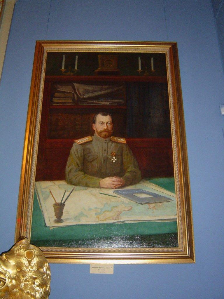 Lo Zar Nicola II, l'ultimo...