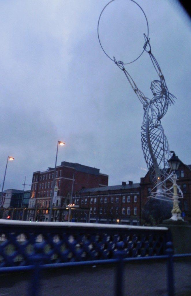 Il simbolo della nuova Belfast...il Thanksgiving Beacon
