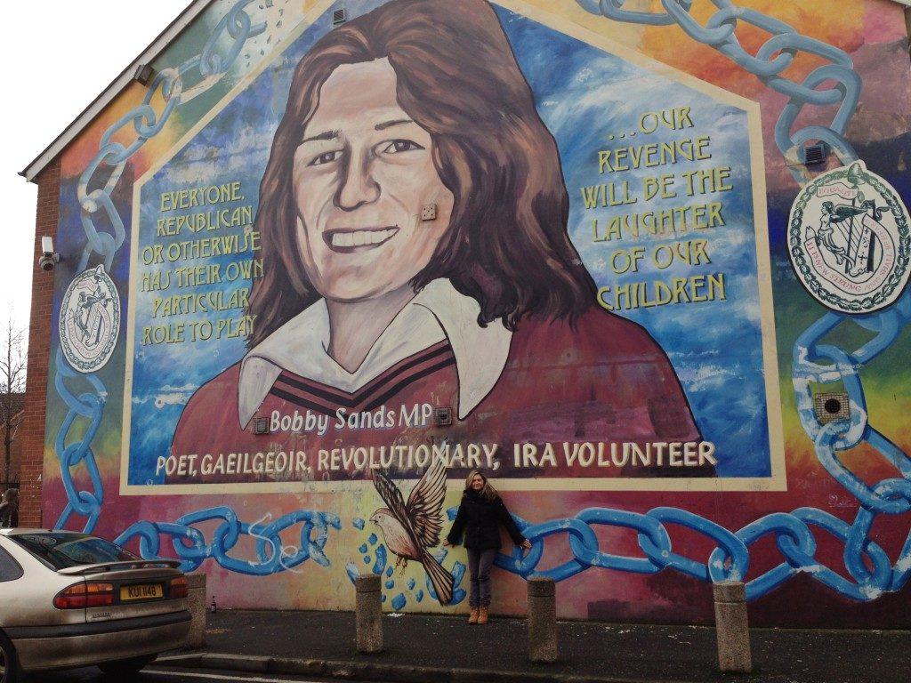 Belfast, Murales Nazionalista