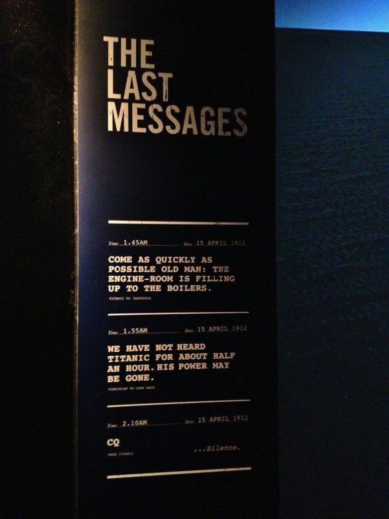 L'ultima richiesta d'aiuto del Titanic...