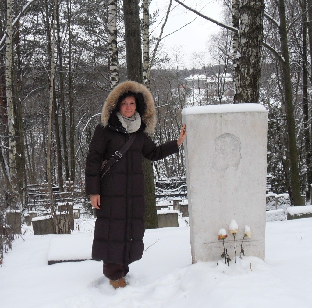 La tomba di Boris Pasternak