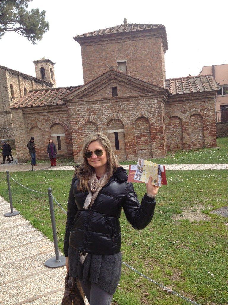 Verso Il Mausoleo di Galla Placidia