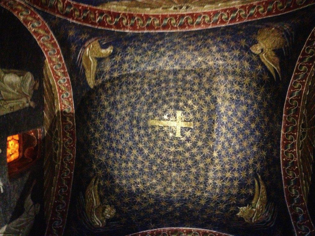 Lo splendido Cielo stellato del Mausoleo di Galla Placidia