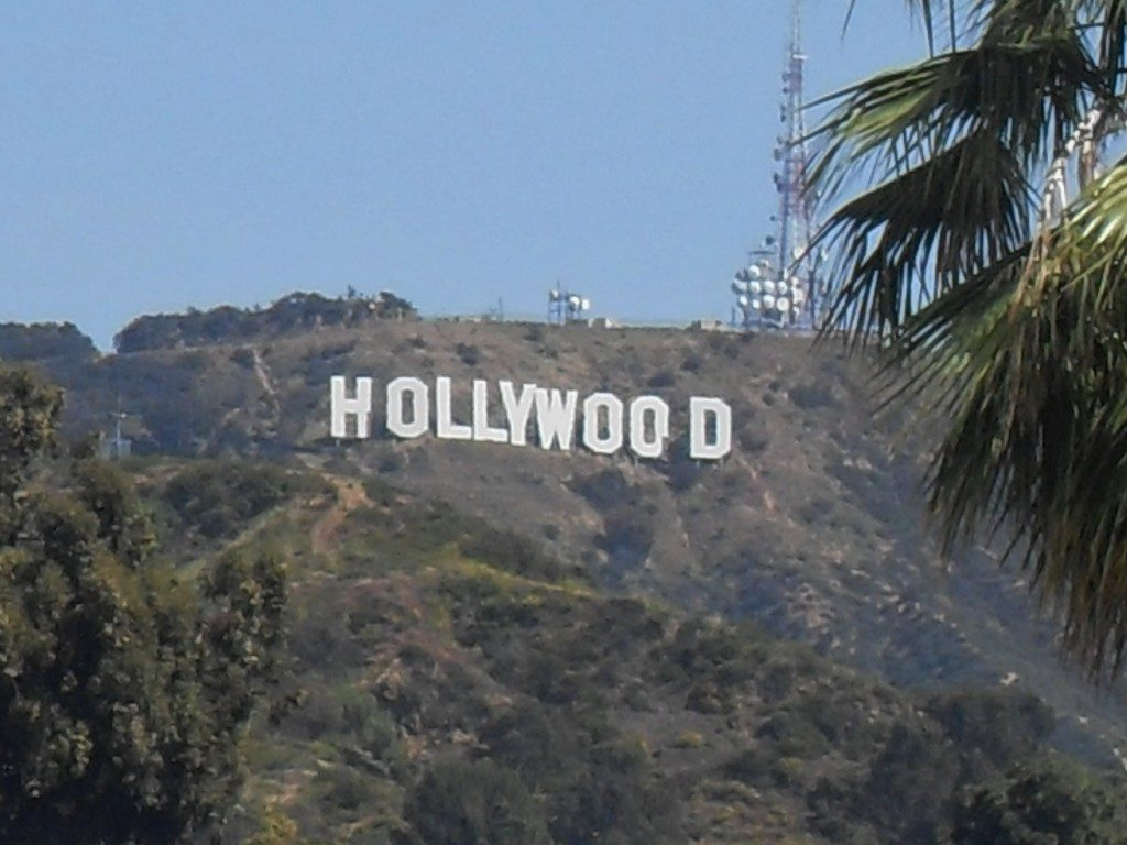 The Hollywood Sign...