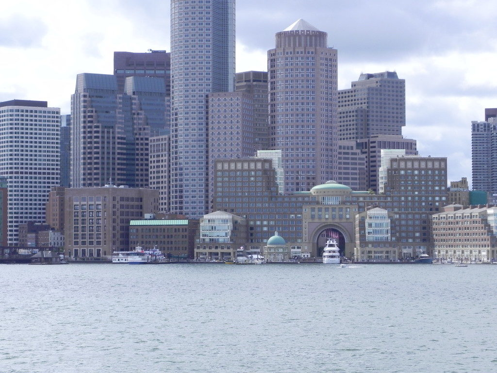 Boston vista dal mare...