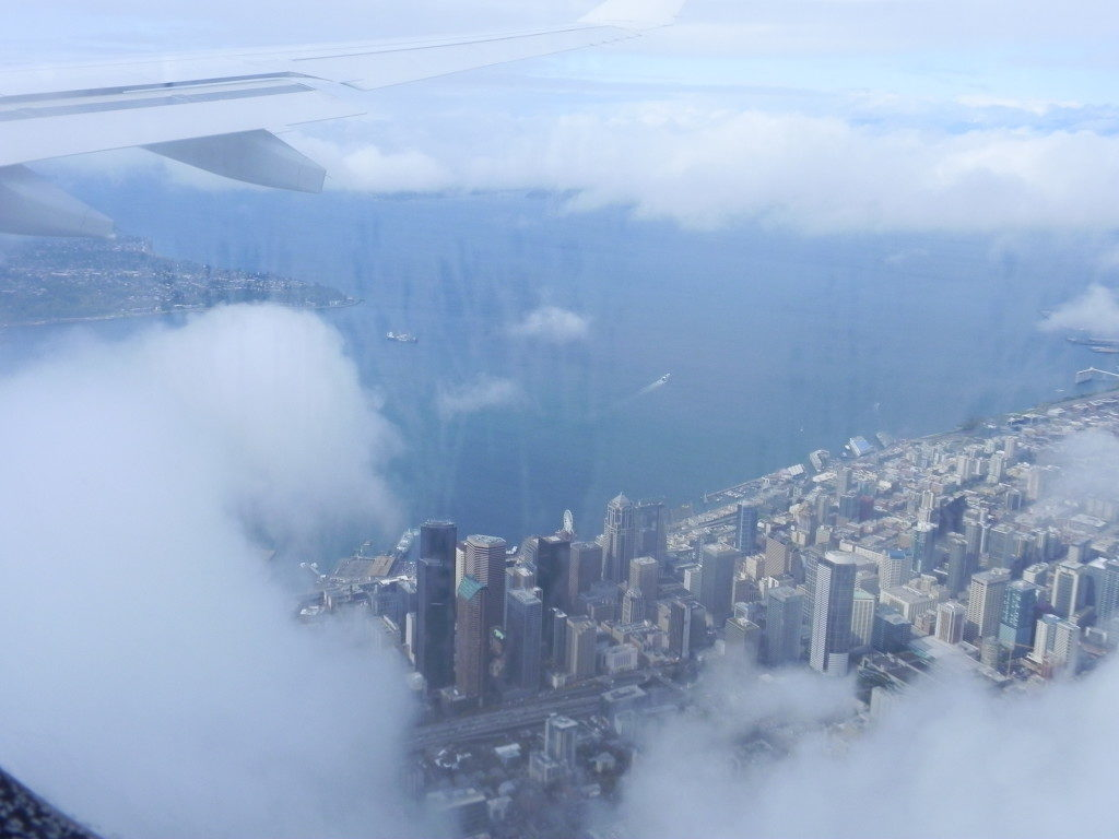 Atterrando a Seattle...