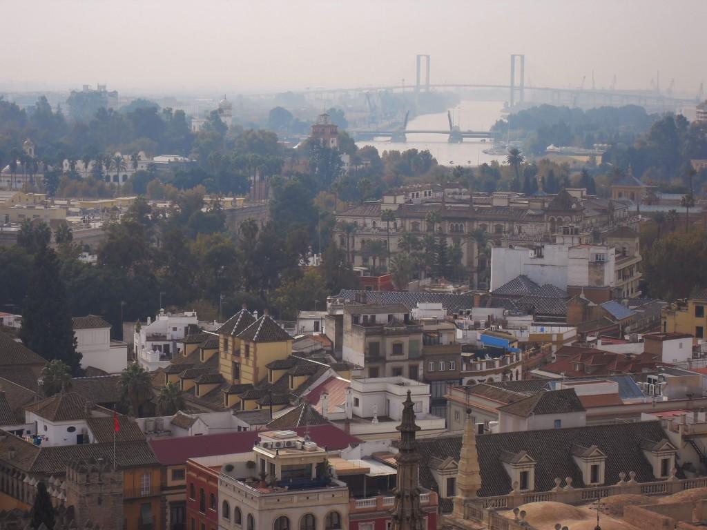 Vista sul Guadalquivir...