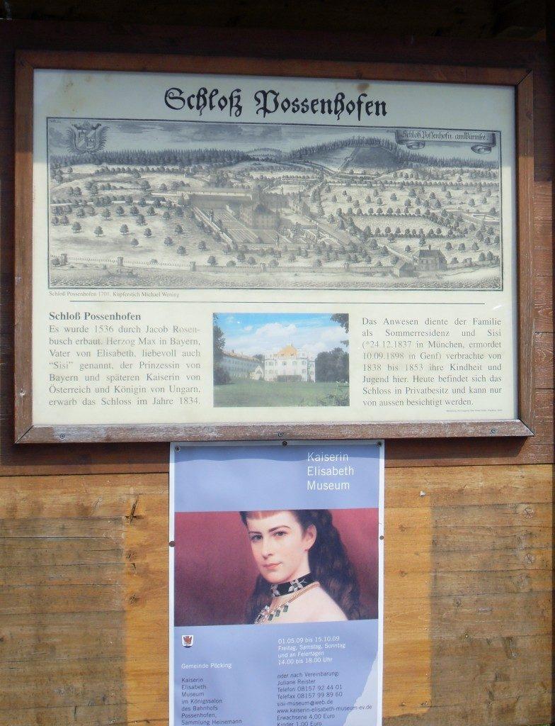 Possenhoffen ed il piccolo museo su Sissi....