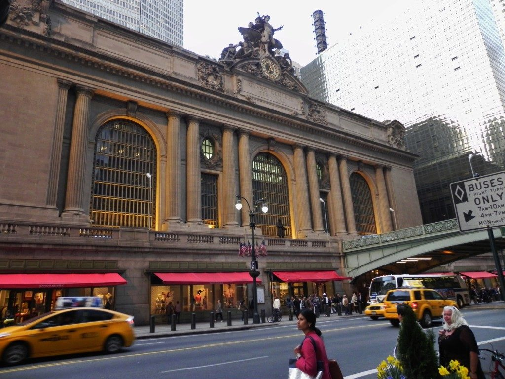Grand Central Terminal, l'ingresso.
