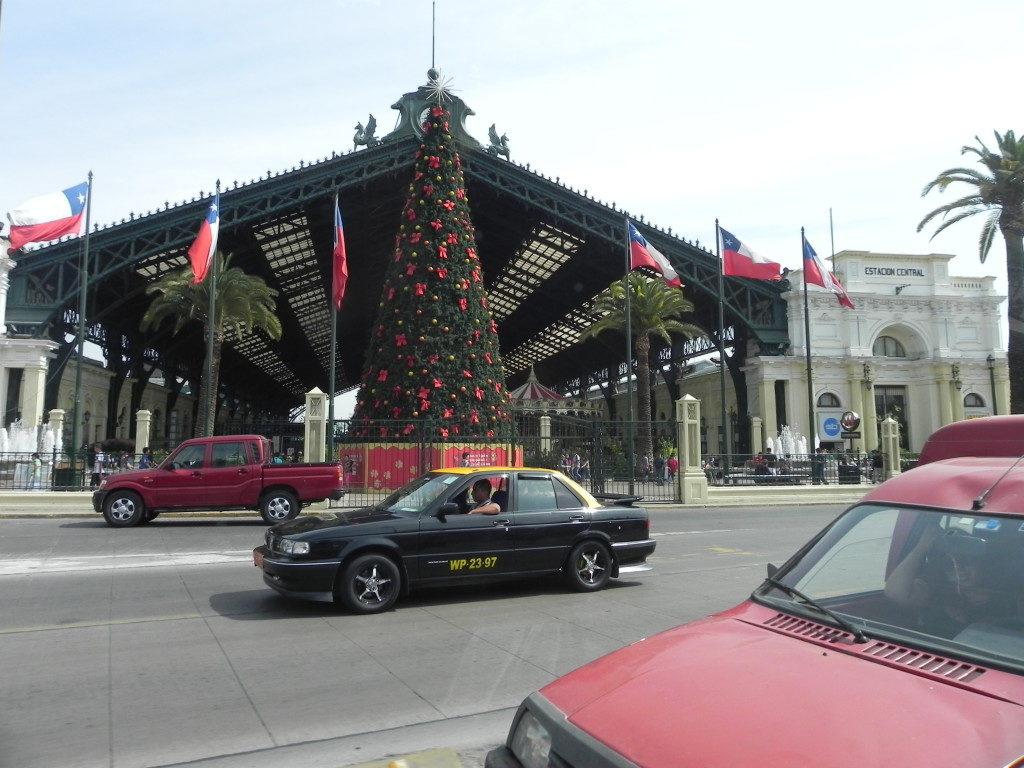 La vecchia stazione ferroviaria, oggi un centro di esposizioni!!
