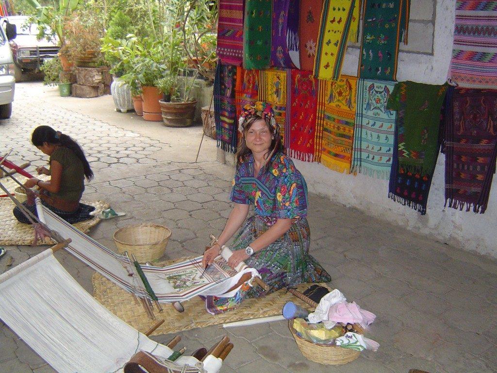 vestita come una guatemalteca