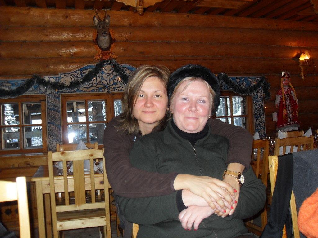 La mia amica e guida Tatiana...