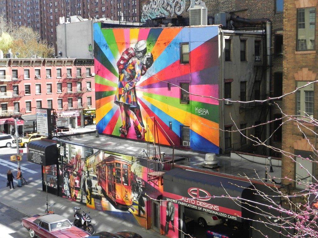 Arte all'aperto sulla High Line