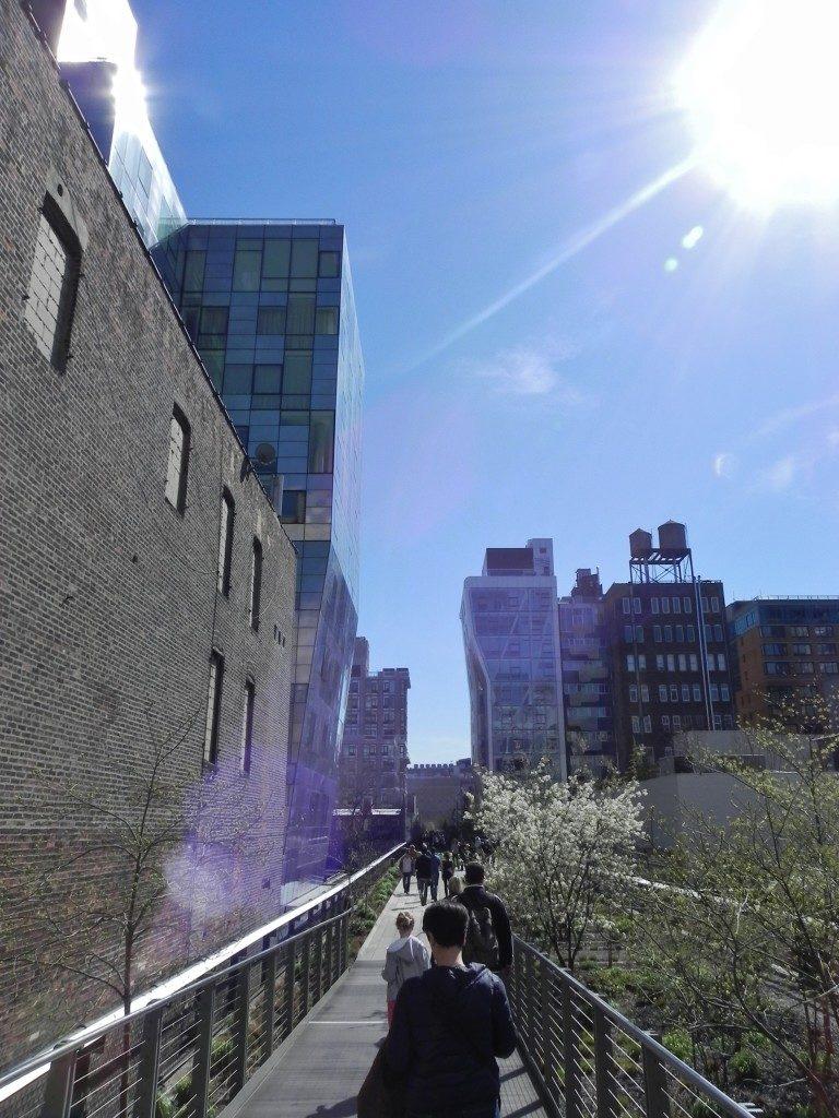 """sospesi"" attraverso midtown... sulla High Line!!!"