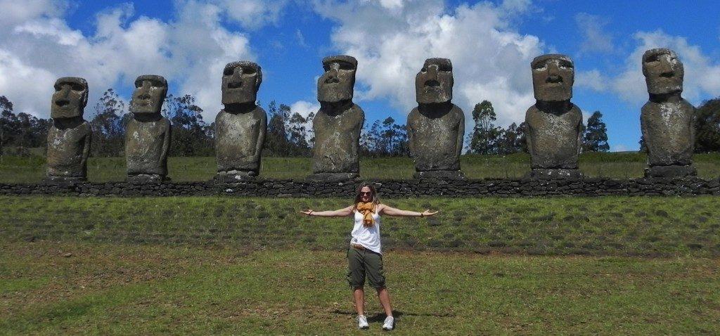 Ahu Akivi, Rapa Nui, Easter Island