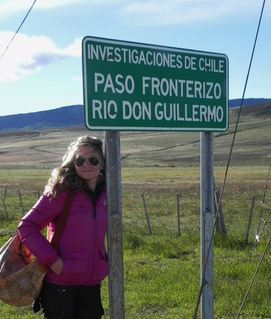 Alla frontiera tra Cile ed Argentina, lasciando Torres del Paine...