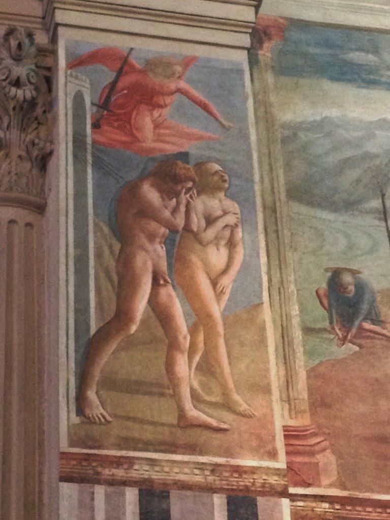 Masaccio, la Cacciata dal Paradiso, Cappella Brancacci