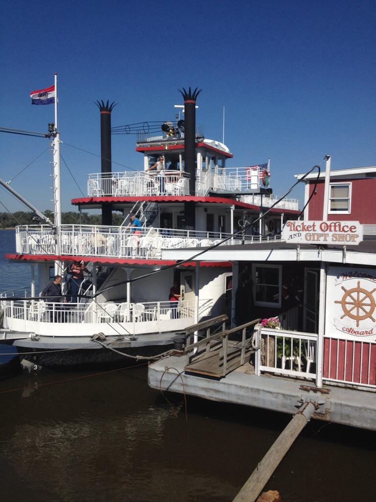Mark Twain Rivberboat, Hannibal