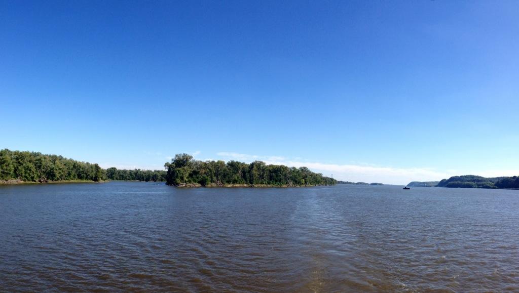 Il grande fiume d'America...