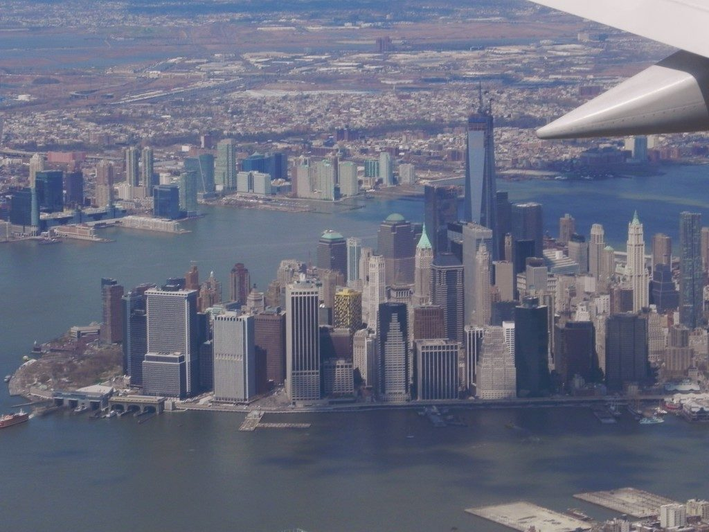 Landing in NYC...