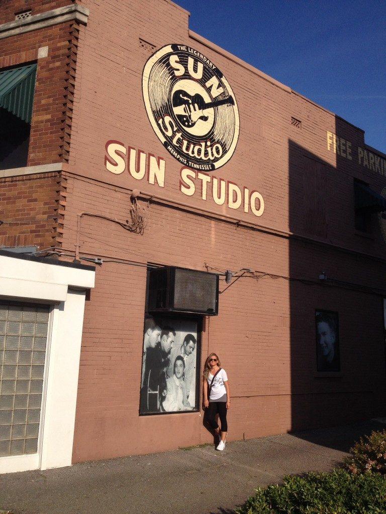 Il mitico Sun Studio....