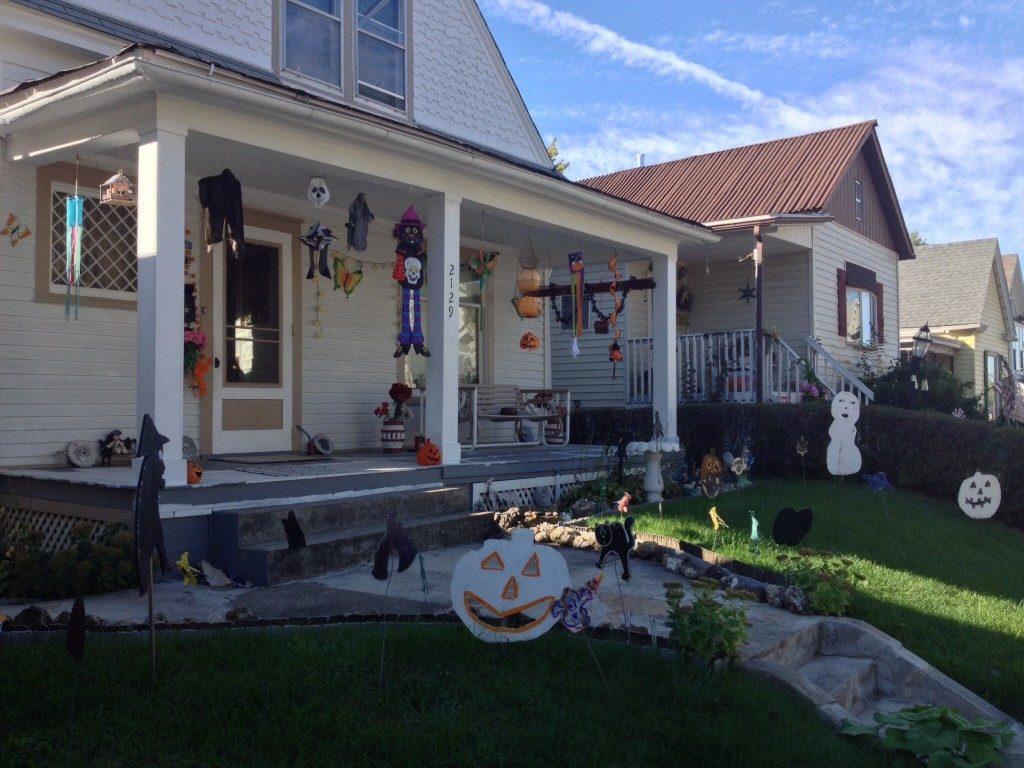 Ed anche ad Hannibal (Missouri), sul Mississsippi, ci si prepara ad halloween!!