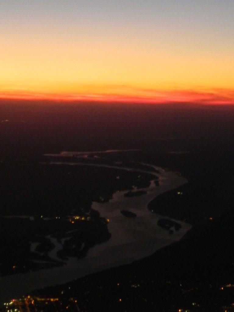 Il Mississippi... atterrando St. Louis