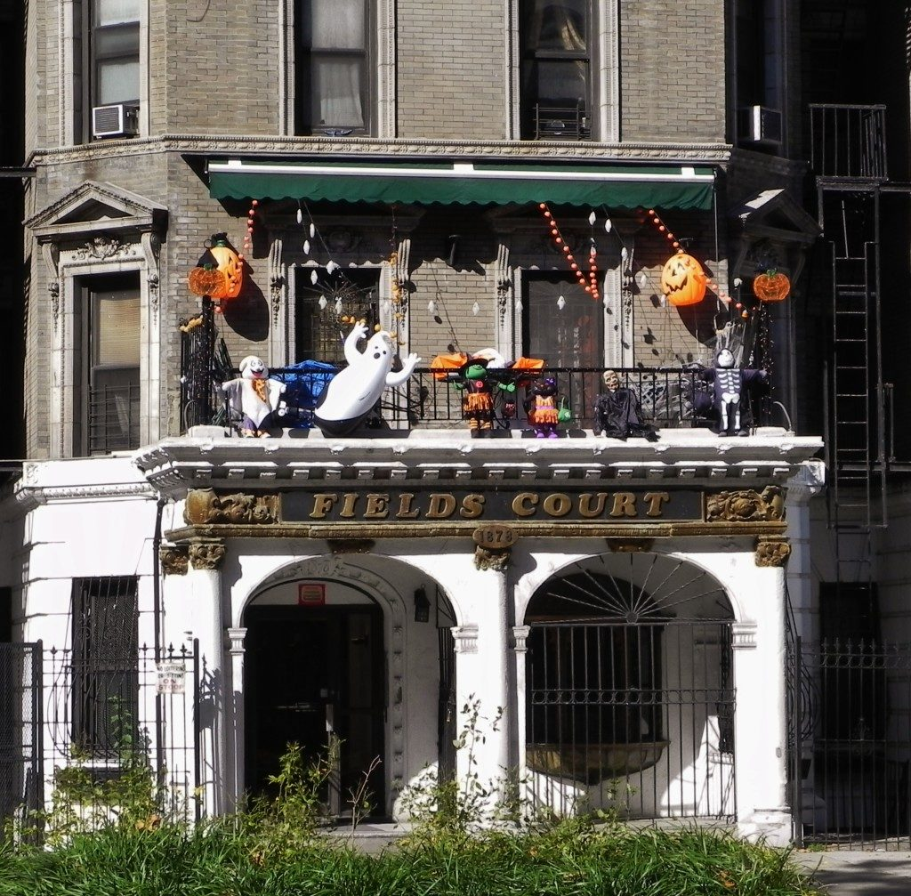 Un terrazzino di Harlem..