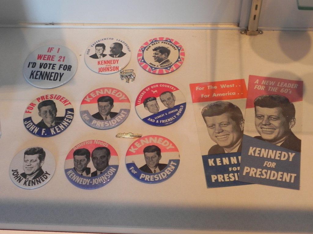 Gadget della campagna presidenziale di Kennedy...