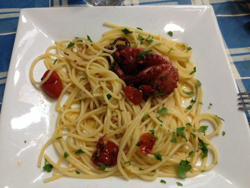 Spaghetti con i
