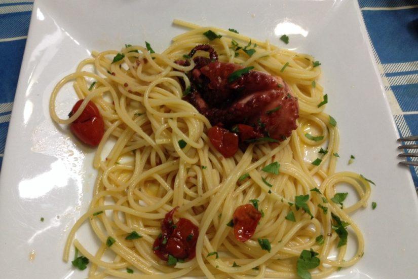 """Spaghetti con i """"Purpetielli"""""""