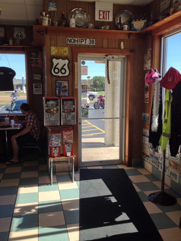 Lunch-break on Route 66