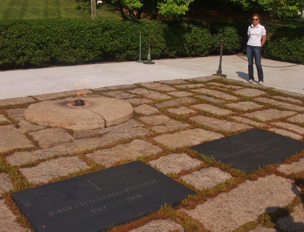 Cimitero di Arlington, la tomba di Kennedy...