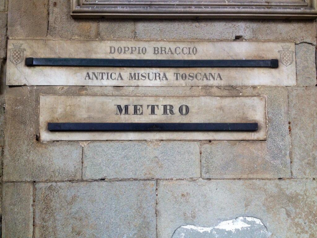 Sui muri del centro storico si puo' trovare anche questo....