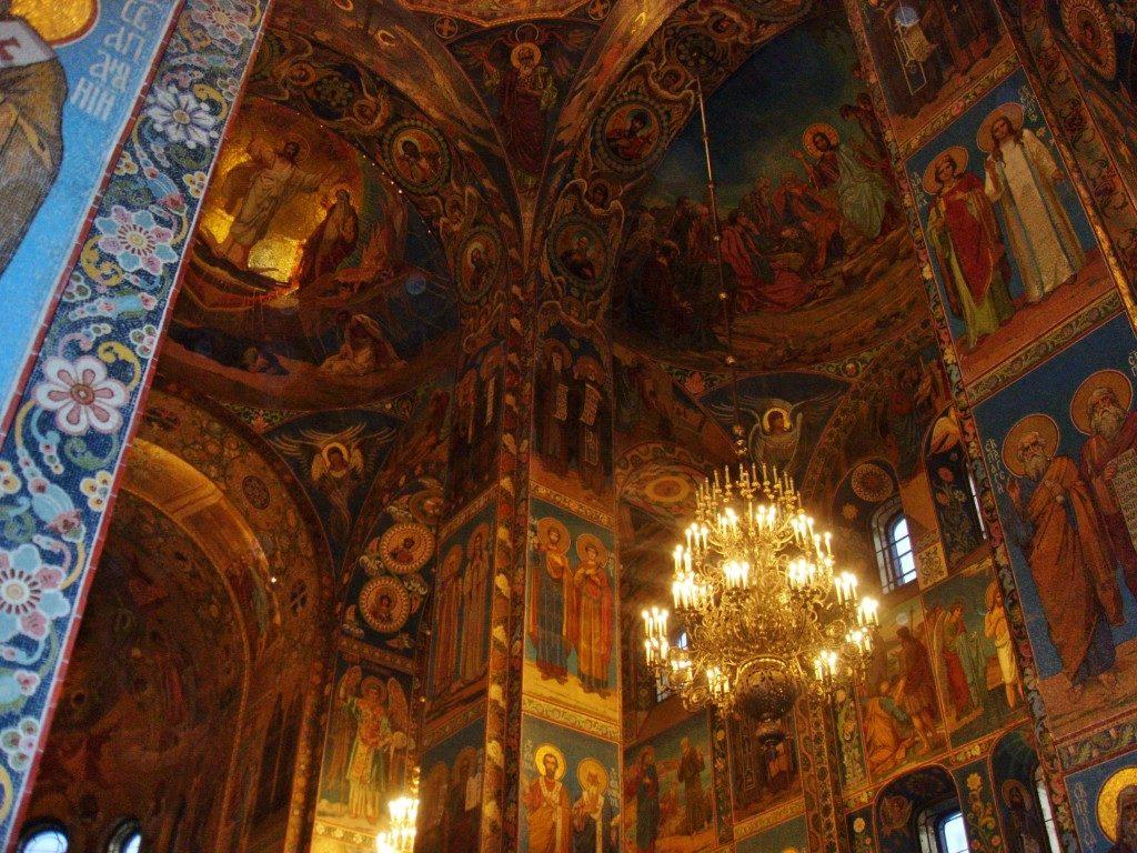 """La chiesa del Salvatore """"sul sangue versato""""... San Pietroburgo, Russia"""