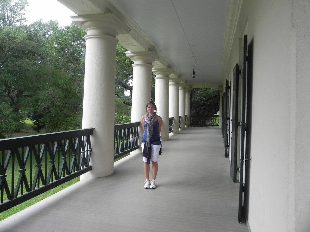 La splendida veranda del primo piano...