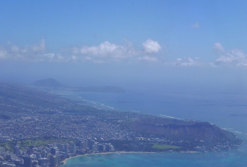 Waikiki beach e Diamond Hill
