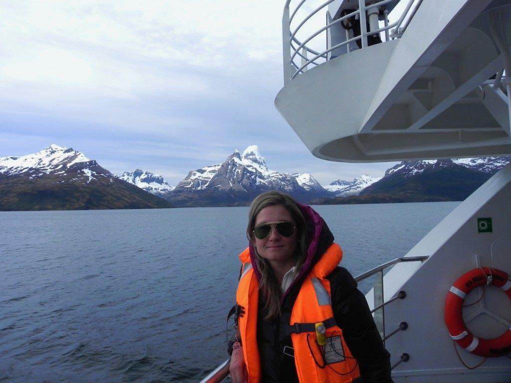 Verso il ghiacciaio Aguila
